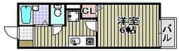 クレスト中町[2階]の間取り