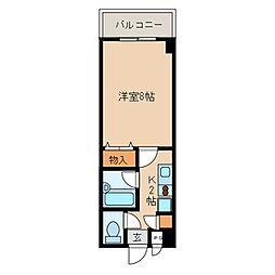 小石川ガーデンハイツ[602号室]の間取り