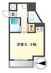 ドール新栄[7階]の間取り