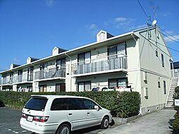 福岡県宗像市宮田2丁目の賃貸アパートの外観