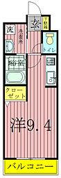 千葉県柏市緑台の賃貸マンションの間取り