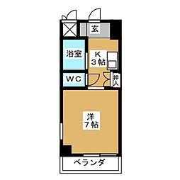 STビル菊井[3階]の間取り
