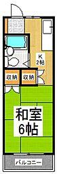 メゾンヴォア[2階]の間取り