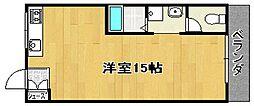 前川ハイツ[2階]の間取り