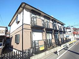 千葉県柏市中新宿2丁目の賃貸アパートの外観