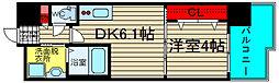 エステムコート難波Ⅲラグース[3階]の間取り
