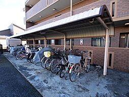 岐阜県可児市中恵土の賃貸マンションの外観