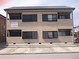 千葉県君津市南久保2丁目の賃貸アパートの外観