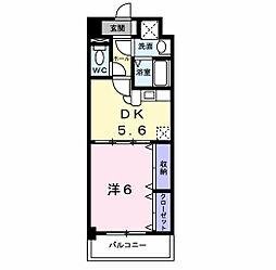 プレミール コノミ[802号室]の間取り
