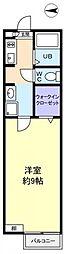 アスピア[2階]の間取り