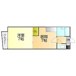 ラ・フォーレ新札幌[302号室]の間取り