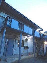 メゾンハリガヤB棟[206号室]の外観