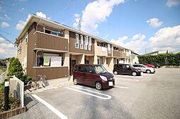 栃木県鹿沼市千渡の賃貸アパートの外観