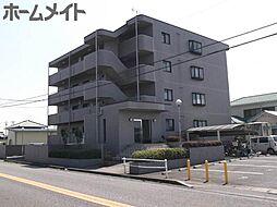 岐阜県関市肥田瀬の賃貸マンションの外観
