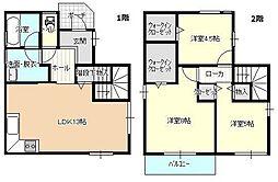 [一戸建] 岡山県岡山市北区西古松2丁目 の賃貸【/】の間取り