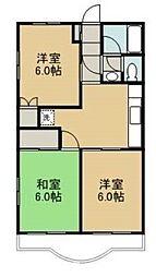 ラ・ビスタ藍住[3階]の間取り