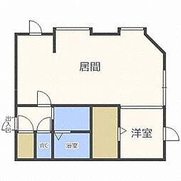 北海道札幌市東区北四十八条東6の賃貸アパートの間取り