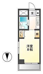 BELLE TOPIA稲沢 2[3階]の間取り