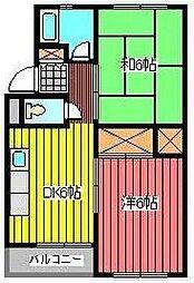 エスポワール南浦和(文蔵3丁目)[1階]の間取り