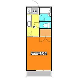 イル・ソリテ−ルⅡ[2階]の間取り