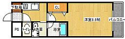 ルミエール21[202号室号室]の間取り
