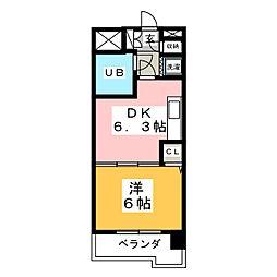 ライオンズプラザ北仙台[10階]の間取り