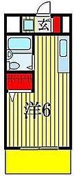 エステートピア政光I[1階]の間取り