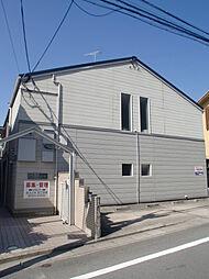 京都府京都市山科区安朱馬場ノ西町の賃貸アパートの外観