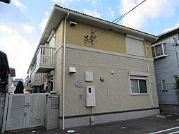 大阪府八尾市安中町2丁目の賃貸アパートの外観