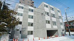 北海道札幌市白石区菊水五条3の賃貸マンションの外観