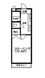 エスポワール玉川学園[2階]の間取り