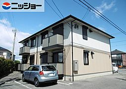 CASA WAKAMATSUB棟[2階]の外観