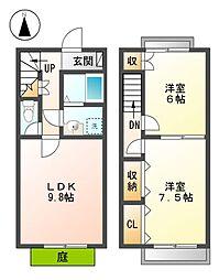 NEXUS 伏屋[1階]の間取り