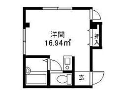 K.MKokubunji[1階]の間取り
