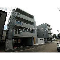 北海道札幌市豊平区平岸六条9丁目の賃貸マンションの外観