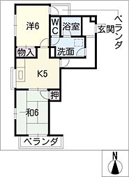 アートメゾン[2階]の間取り