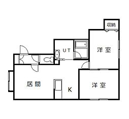 Ma maison[102号室]の間取り