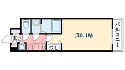 西宮ルモンド甲子園[210号室]の間取り