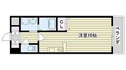 CON BRIO ST[303号室]の間取り