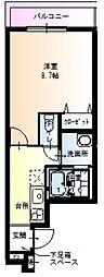 フジパレス新深VII番館[303号室号室]の間取り