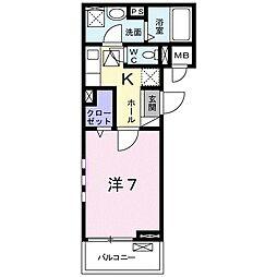 ロンガヴィータ志木II[3階]の間取り