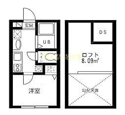 プレミアムコート南太田[1階]の間取り