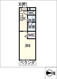 仮)大高Mプロジェクト A棟[3階]の間取り