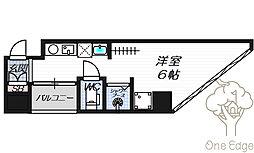 公高貴王ビル(女性限定レディースマンション)[5階]の間取り