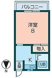 スポーリア今井[505号室]の間取り