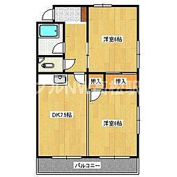 メゾンムーラン[2階]の間取り