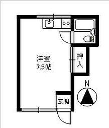 アパートメント12[103号室]の間取り