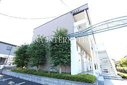東京都三鷹市大沢2の賃貸アパートの外観