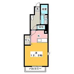 サニースクエアI・II・III[1階]の間取り