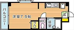 ウィンディ大浦[3階]の間取り
